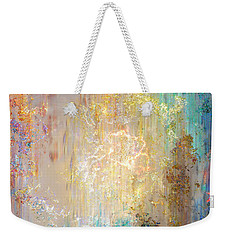 A Heart So Big - Custom Version 2 - Abstract Art Weekender Tote Bag by Jaison Cianelli
