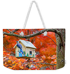 A Home In The Country Weekender Tote Bag by Mariarosa Rockefeller