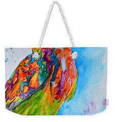 A Hootiful Moment In Time Weekender Tote Bag by Beverley Harper Tinsley