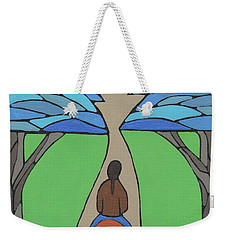 Weekender Tote Bag featuring the painting A Horse Of A Different Colour by Barbara St Jean