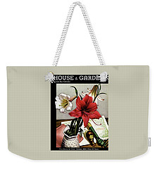 A House And Garden Cover Of Lilies Weekender Tote Bag