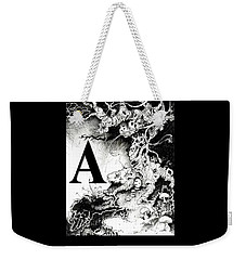 A Is For Arbol Weekender Tote Bag by Julio Lopez