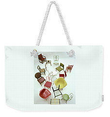 A Large Group Of Chairs Weekender Tote Bag