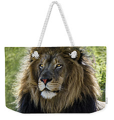 A Lion's Thoughts Weekender Tote Bag
