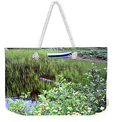 A Little Flat Awaiting Weekender Tote Bag by Barbara Griffin