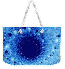 A Little Frost Weekender Tote Bag by Lena Auxier