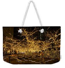 A Little Golden Garden In The Heart Of Manhattan New York City Weekender Tote Bag