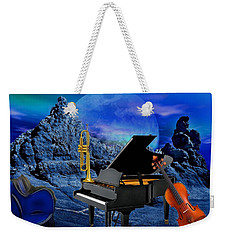 A Little Night Music Weekender Tote Bag
