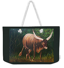 A Lot Of Bull, Watusi  Weekender Tote Bag
