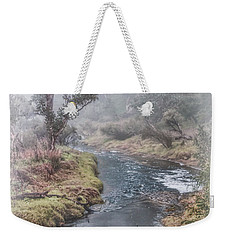 A Misty Morning In Bridgetown Weekender Tote Bag