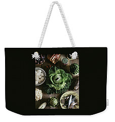 A Mixed Variety Of Food And Ceramic Imitations Weekender Tote Bag
