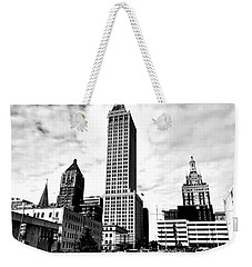 A Moment In Time...tulsa Ok Weekender Tote Bag by Chris Tarpening