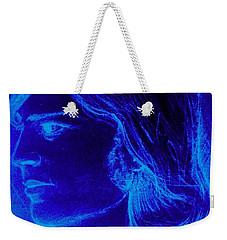 A Moody Blue Weekender Tote Bag
