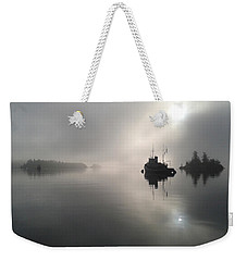 A Moody Morning Weekender Tote Bag by Mark Alan Perry