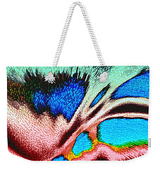 Weekender Tote Bag featuring the photograph Color Sweep by Kellice Swaggerty