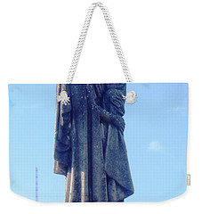 Weekender Tote Bag featuring the photograph A Mother's Love by Alys Caviness-Gober