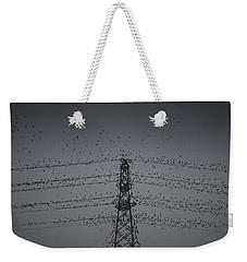 A Murmuration Of Starlings Weekender Tote Bag
