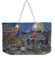 A Nap By The Lily Pond Weekender Tote Bag