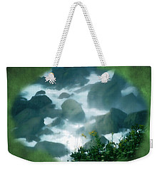 Weekender Tote Bag featuring the photograph Natural Opening by Kellice Swaggerty