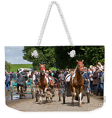 A Near Miss Weekender Tote Bag