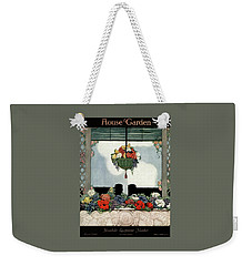 A Neo-classical Marble Window Sill Weekender Tote Bag