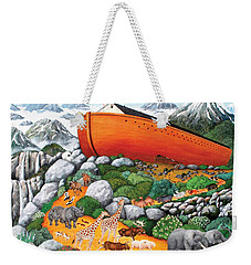 A New Beginning Weekender Tote Bag