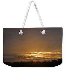A New Day - Sunrise In Texas Weekender Tote Bag