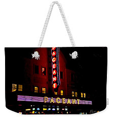 A Night At The Pageant Weekender Tote Bag by Kelly Awad