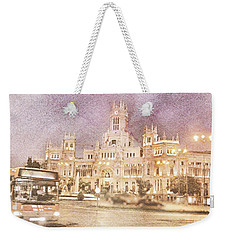 A Night In Madrid  Weekender Tote Bag by Connie Handscomb