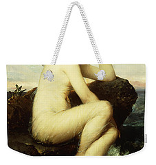 A Nymph By The Sea Weekender Tote Bag by Wilhelm Kray