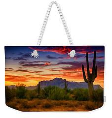 A Painted Desert  Weekender Tote Bag