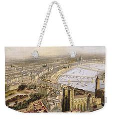 A Panoramic View Of London Weekender Tote Bag