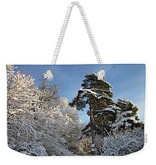A Perfect Winterday Weekender Tote Bag
