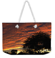 Weekender Tote Bag featuring the photograph A Phoenix Sunset by Tom Janca