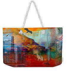 A Piece Of America Weekender Tote Bag
