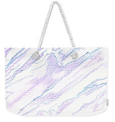 A Piece Of The Alaska Range2 Weekender Tote Bag by Heather  Hiland