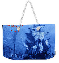 A Pirate Looks At Forty Weekender Tote Bag by John Stephens