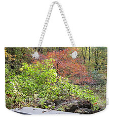 A Place To Think II Weekender Tote Bag by Barbara Bardzik