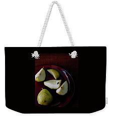 A Plate Of Pears Weekender Tote Bag