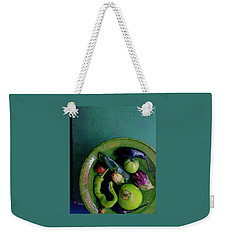 A Plate Of Vegetables Weekender Tote Bag by Romulo Yanes
