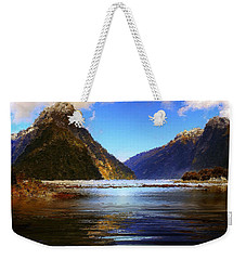 A Pleasant Stay At The Park Weekender Tote Bag