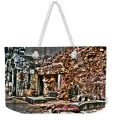 Weekender Tote Bag featuring the photograph A Quiet Place To Pray by Doc Braham