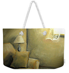 A Quiet Room Weekender Tote Bag