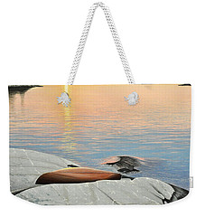 A Quiet Time Weekender Tote Bag by Kenneth M  Kirsch
