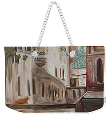 A Quiet Venice Canal Weekender Tote Bag