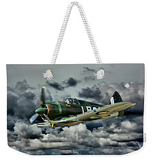 Weekender Tote Bag featuring the photograph A Rare Bird by Steven Agius
