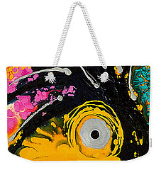 A Rare Bird - Tropical Parrot Art By Sharon Cummings Weekender Tote Bag