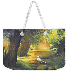 A Ray Of Sunshine  Weekender Tote Bag by Sorin Apostolescu