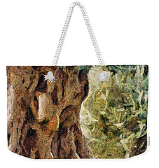 A Really Old Olive Tree Weekender Tote Bag
