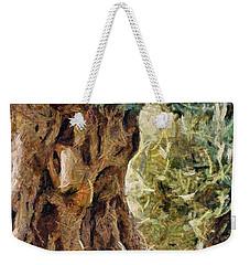 A Really Old Olive Tree Weekender Tote Bag